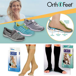 Diabetic Shoes (Medicare Approved) & Compression Hosiery