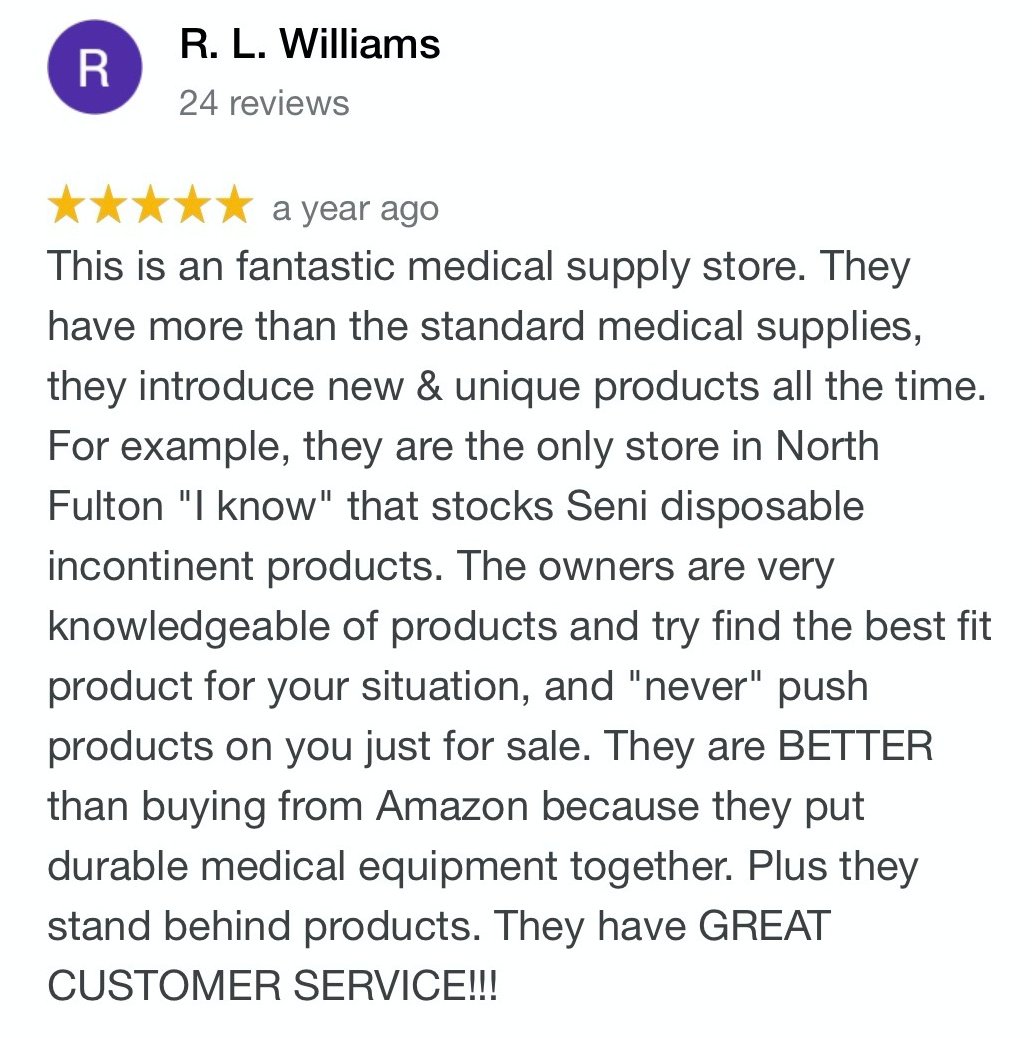 Review of Northside Medical Supply